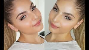 glowing face makeup tutorial skin