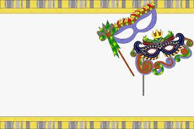 Mascaras De Carnaval Invitaciones Para Imprimir Gratis Ideas Y