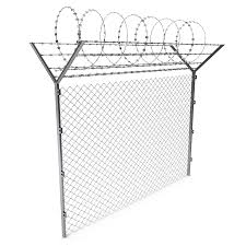 Barbed Wire Fence 3d Model 49 Max Ma Obj 3ds C4d Free3d