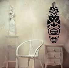 Vinyl Decal Surfing Tiki Mask Surf Board Ocean Sea Best Seller Etsy