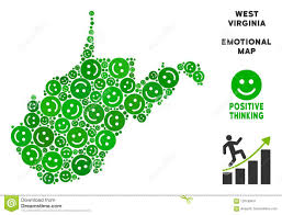 Vector Joy West Virginia State Map Composition Of Smileys Stock Vector -  Illustration of america, comic: 120159451
