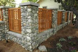Garden Fences 24 By Prowell Woodworks Fence Gate Design Fence Design Brick Fence