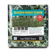 Fencescreen 4 Ft X 25 Ft L Leaf Hedge Graphic Pvc Chain Link Fence Screen In The Chain Link Fence Screens Department At Lowes Com