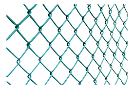 1800mm Wide 6ft Green Pvc Coated Chainlink Fence 25 Mtr Plastic Steel Mesh
