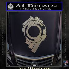 Ghost In The Shell Section 9 Logo Decal Sticker A1 Decals
