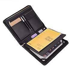 ipad portfolio case with notepad holder