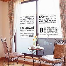 bahasa inggris words and quotes pvc wall stiker lazada