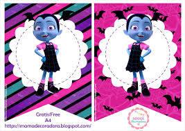 Mama Decoradora Kit Imprimible Vampirina Gratis