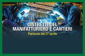 FASE 2: Riapertura immediata per imprese strategiche e cantieri ...