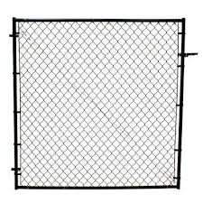6 Chain Link Fence Gates Chain Link Fencing The Home Depot