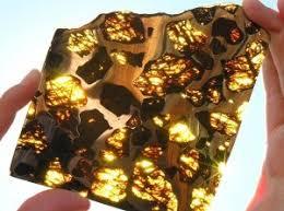Niezwykle piękne meteoryt Fukang - Wykop.pl