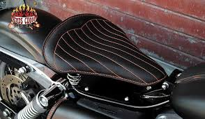 motorcycle seats in leather by ends