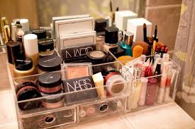 makeup organizer ideas that combine