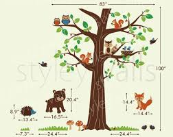 10 Off Coupon On Woodland Animals Wall Decal Woodland Wall Decal Forest Animals Huge Tree Wall Decal Nursery Children Baby Room Wall Decal Sticker By Styleywalls Etsy Coupon Codes