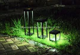 lighting system outdoor solar lantern