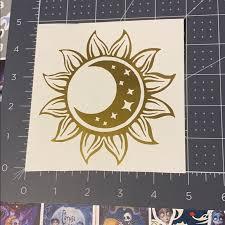 Wall Art 815 Sun Moon Vinyl Decal Poshmark