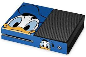 Amazon Com Skinit Decal Gaming Skin For Xbox One Console Officially Licensed Disney Donald Duck Up Close Design Electronics