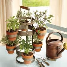 ballard designs 2 tier pot stand for