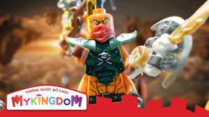 Đồ chơi xếp hình Lego Ninjago - Đội quân không tặc 2016 - YouTube