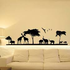 Safari Wall Decal Jungle Wall Decal From Fabwalldecals On Etsy