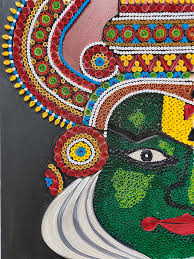 Kathakali Mixed Media by Pooja Malhotra