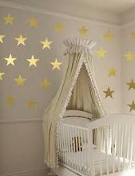 Gold Stars Wall Stickers Decals Decorating Art Kit Decal Graphic Nursery Cute Ebay