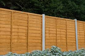6ft X 6ft 1 83m X 1 83m Trade Lap Fence Panel Forest Garden