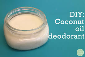 diy coconut oil deodorant with just 3