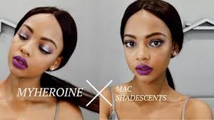 my e makeup tutorial mac