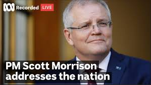 Prime Minister Scott Morrison addresses ...