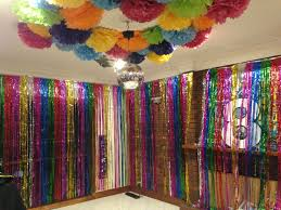 Disco Dance Kids Birthday Party Decorations Disco Ball Feature Tinsel Curtain Wall Just Add The Kids Party Decorations Dance Party Kids Disco Party Decorations