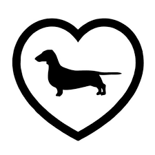 15 14 1cm New Love Border Dachshund Car Sticker Motorcycle Car Window Fashion Decorative Stickers Decals C4 0146 Shop The Nation