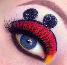 mickey mouse makeup look disney