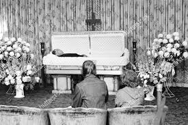 Duke Ellington Unidentified mourners sit before casket Editorial Stock  Photo - Stock Image   Shutterstock