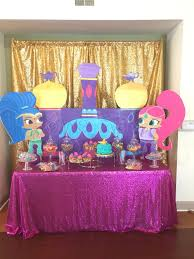 Shimmer And Sine Birthday Party By Ws Events Decoracion Fiesta Shimmer Y Shine Fiesta Cumpleanos