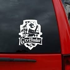 Harry Potter Gryffindor House Crest 5 X 4 1 Vinyl Decal Window Sticker For Cars Trucks Windows Walls Laptops And More Decals Magnets Bumper Stickers Amazon Canada