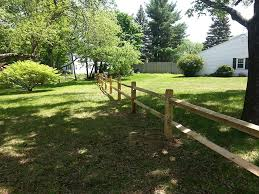 Wood Post Rail The Fence Menders