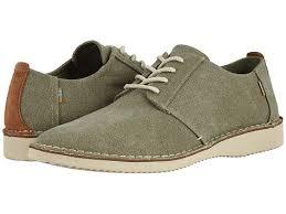 toms preston men s lace up casual shoes