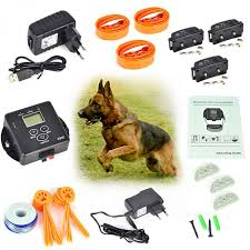 Electronic In Ground Pet Fence Dog Training Collar Fence Containment System X800 Free Shipping Thanksbuyer