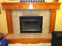 the 157 41 ugly oak fireplace mantle
