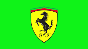 ferrarİ logo modern animation green