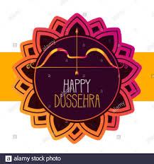 happy dussehra festival greeting banner ...