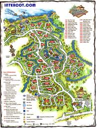 the wilderness wisconsin dells map