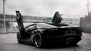 black lamborghini wallpapers top free