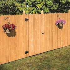 Severe Weather 3 5 Ft H X 8 Ft W Pressure Treated Pine French Gothic Fence Panel In The Wood Fence Panels Department At Lowes Com