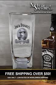 jack daniels cameo tall rocks glass