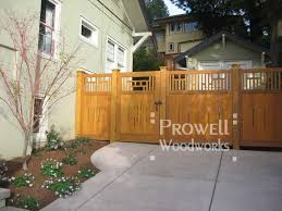 Japanese Wood Garden Gate 79 By Prowell