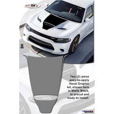 Decal Kit For Hood From Atd For 2015 2019 Dodge Charger Srt 392