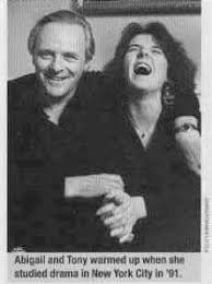 Anthony Hopkins and his daughter Abigail | Anthony hopkins ...