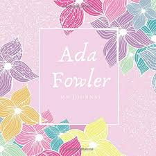 Ada Fowler: Custom Design: Fitzmodir, Kendra, Media, Teal Panda:  9798643601609: Amazon.com: Books